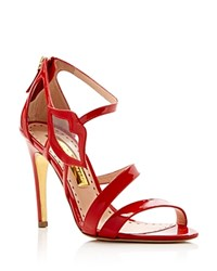 Rupert Sanderson Rupert Sanderson Kiss Lip High Heel Sandals Red