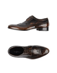 Byblos Lace Up Shoes Dark Brown