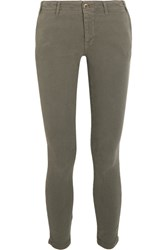 The Great Skinny Slack Stretch Corduroy Pants Army Green