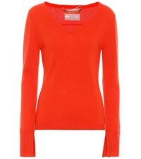 81 Hours Cabin Cashmere Sweater Red