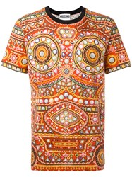 Moschino Mirror Embroidered T Shirt