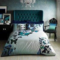 Ted Baker Butterfly Collective Duvet Cover Blue Green