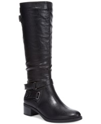 Easy Street Shoes Easy Street Mesa Wide Calf Tall Boots Women's Shoes Black