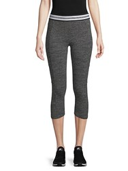 Marc New York Stretch Cropped Leggings Cement Heather