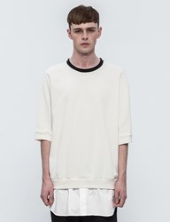 3.1 Phillip Lim Layered S S Sweatshirt