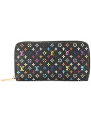 Louis Vuitton Vintage Zippy Wallet Purse Black