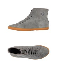 Fred Perry Footwear High Tops And Trainers Women Grey