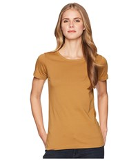 Filson Whidbey Scoop Neck T Shirt Caramel Clothing Brown