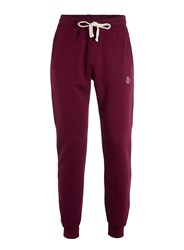 Jog On Red Burgundy Skinny Fit Joggers