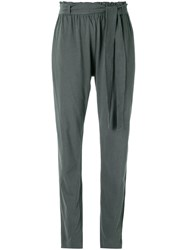 Giuliana Romanno Pleated Trousers Grey