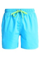 Arena Fundamentals Swimming Shorts Turquoise Leaf Blue