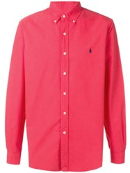 Ralph Lauren Polo Pony Shirt Red