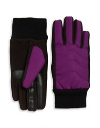 Isotoner Thermaflex Tech Gloves Concord Purple