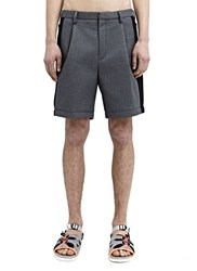 Kolor High Tech Mesh Detail Shorts Grey