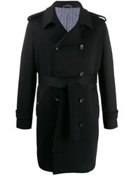Circolo 1901 Double Breasted Coat Blue