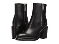 Mcq By Alexander Mcqueen Clapton Zip Boot Black Women's Boots