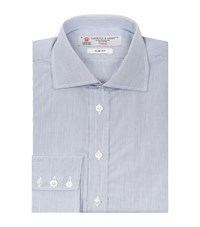 Turnbull And Asser Regent Sim Fit Micro Check Shirt Male