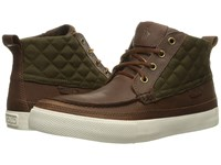 Polo Ralph Lauren Tomas Brown Olive Oiled Milled Leather Matte Cordura Men's Lace Up Boots