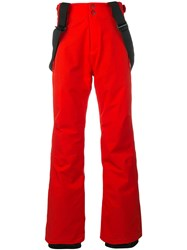 Rossignol Course Ski Trousers Red