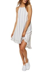 O'neill Rooney Stripe Sundress White