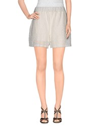 Lo Not Equal Trousers Shorts Women White