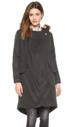 Bb Dakota Daisy Coat Black