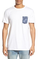 Men's Rhythm 'Palm' Print Pocket T Shirt