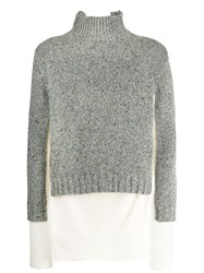 Maison Martin Margiela Layered Sweater Grey