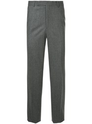 Gieves And Hawkes Skinny Trousers Grey