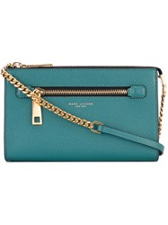 Marc Jacobs Gotham Small Crossbody Bag Women Leather One Size Green