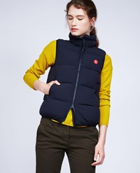 Aspesi Sleeveless Down Jacket Ginger Navy Blue