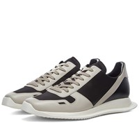 Rick Owens Lace Up Runner Black