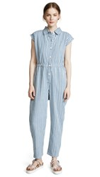 Ace And Jig Heights Jumpsuit Starboard