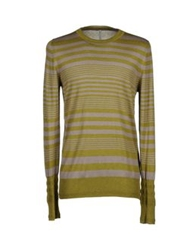 Aimo Richly Sweaters Military Green