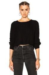Theperfext Ella Cable Top In Black