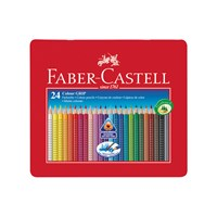 Faber Castell Colour Grip 2001 Pencils Tin Of 24
