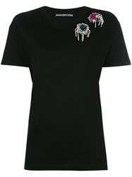 Marco Bologna Jewel Embellished T Shirt Black