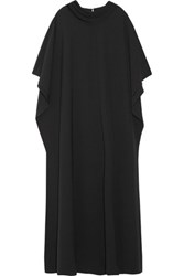 Mikael Aghal Crepe Gown Black