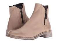 Cordani Parelli Taupe Leather Women's Zip Boots