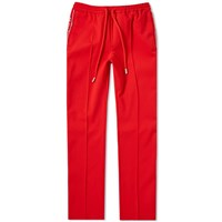Off White Taped Track Pant Red