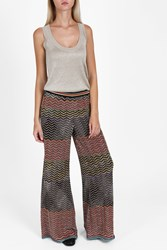 Missoni Zigzag Lame Wide Trousers Multi