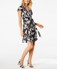 Inc International Concepts Printed Wrap Dress Created For Macy's Mosaic Peony