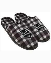 Forever Collectibles Colorado Avalanche Flannel Slide Slippers Black
