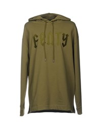 Fenty Puma By Rihanna Sweatshirts Military Green