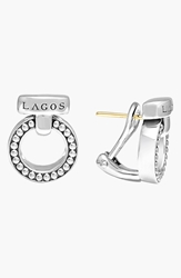 Lagos 'Enso' Caviartm Clip Earrings Silver