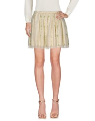 Girl By Band Of Outsiders Mini Skirts Light Yellow