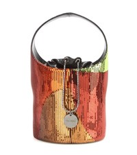 Tom Ford Mini Miranda Sequin Bucket Bag Multicoloured