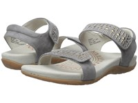 Aetrex Maria Grey Women's Sandals Gray