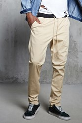 Forever 21 Ankle Zip Cotton Pants