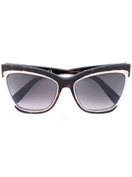 Dsquared2 Amber Sunglasses Women Acetate Metal Glass One Size Brown